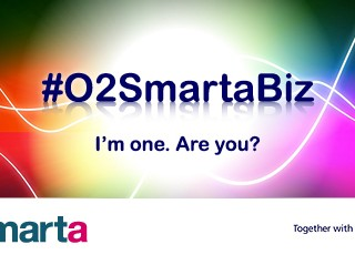 "We're a ""brilliant #O2SmartaBiz"" thanks to our podcast!"