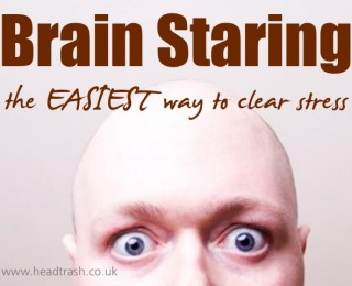 How to Brain Stare: the EASIEST way to clear stress