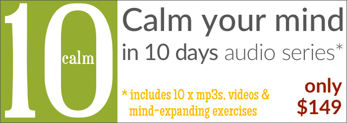 Calm your mind in 10 days